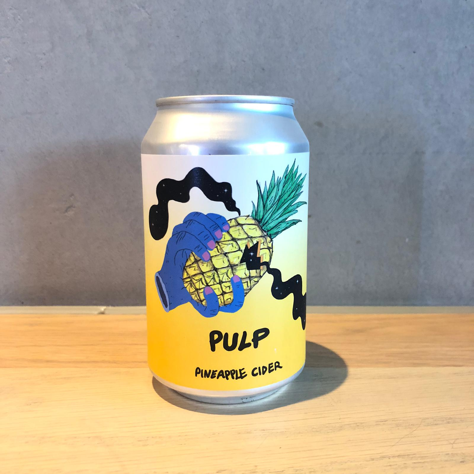 Lervig Pulp Pineapple cider 4.7% 330ml