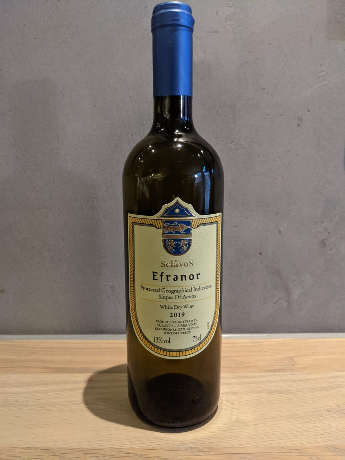 SCLAVOS EFRANOR WHITE 2019