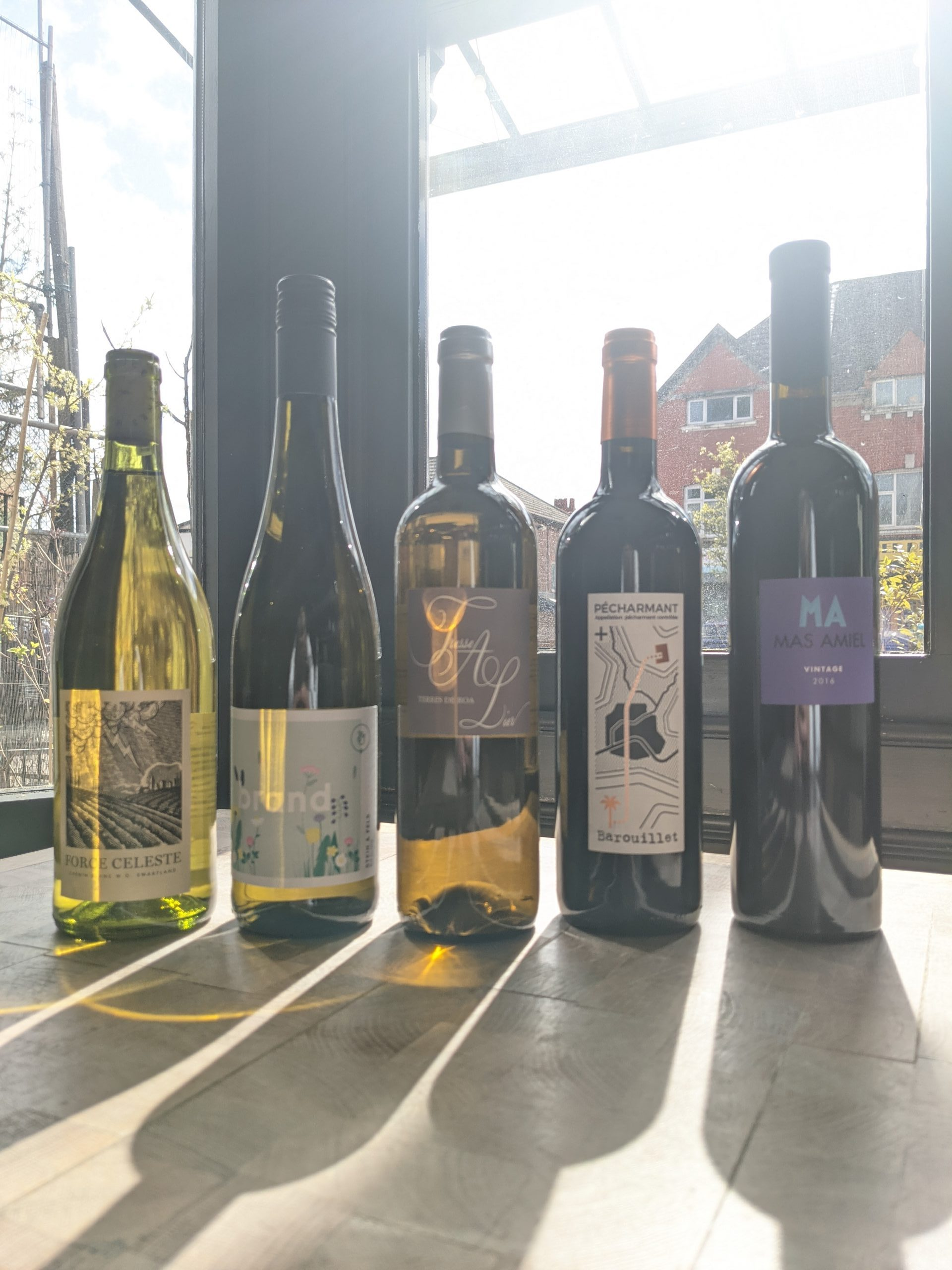Paired Wines Saturday 10th April £30pp
